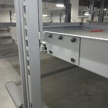 白河縣機械車位租賃平面移動式機械立體停車設備廠家萊貝停車位過圖片