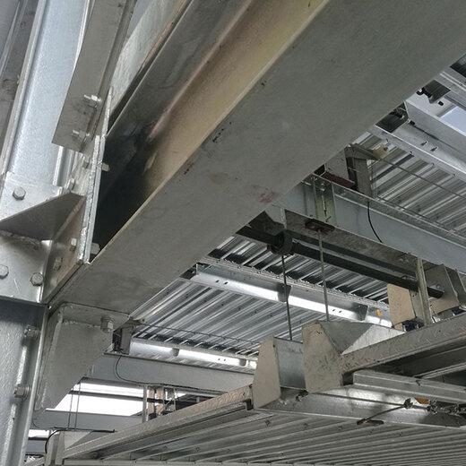 重慶立體停車安裝理縣簡易升降式立體車庫倍萊機械車庫