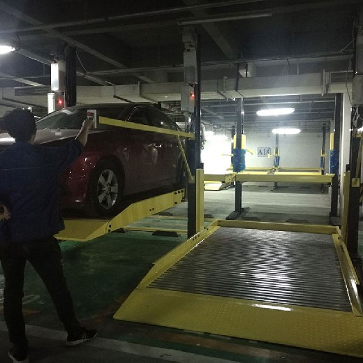 貴州機械式立體停車設備拆除彝良機械式停車倍萊機械立體停車設備