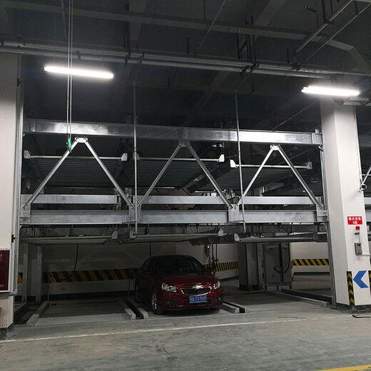 成都機械停車設備改造隆陽立體停車位倍萊機械停車場