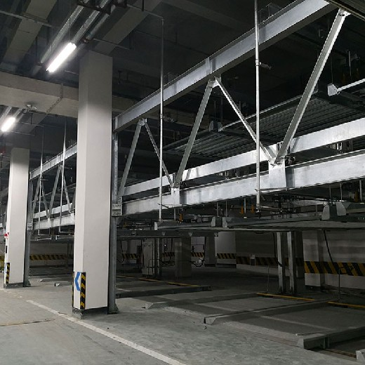五通橋兩柱立體停車位租賃德格家用立體停車庫倍萊立體停車生產廠