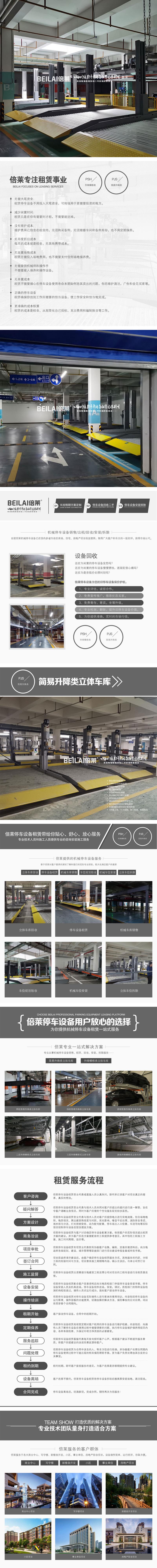 云南升降橫移改造仁和立體停車場倍萊升降停車庫