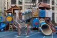 幼兒園單面書架戶外秋千滑滑梯各種游樂設備廠家