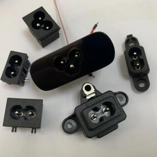 贝尔佳米老鼠电源插座用于适配器及电视主板的插座BEJ八字座图片1