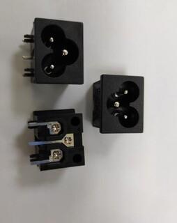 贝尔佳米老鼠电源插座用于适配器及电视主板的插座BEJ八字座图片4