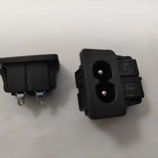 贝尔佳米老鼠电源插座用于适配器及电视主板的插座BEJ八字座图片6