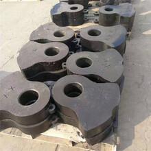 制砂機熱復合高鉻合金耐磨錘頭碎石機粉煤錘頭