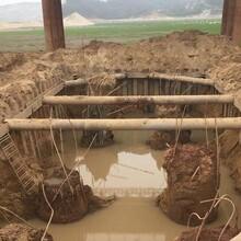 汕尾化糞池鋼板樁支護中鑫基礎工程圖片