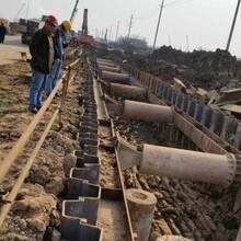 增城鋼板樁支護施工圍堰中鑫基礎工程圖片
