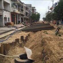 連州周邊施工租賃18米管道鋼板樁圖片