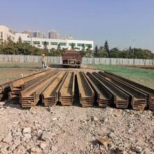 茂名周邊施工租賃6米拉森鋼板樁機圖片