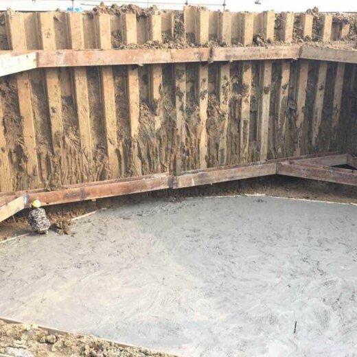 石排周邊施工租賃12米鋼板樁止水材料