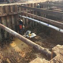 汕頭溝槽鋼板樁支護圍堰中鑫基礎工程圖片
