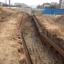 开平周边施工租赁18米拉森钢板桩图片