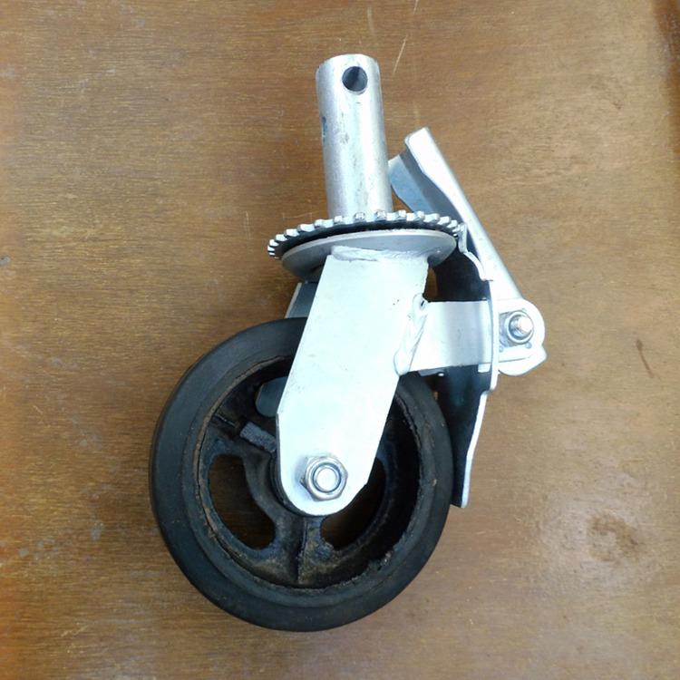 脚手架橡胶脚轮加工A资源脚手架橡胶脚轮加工A橡胶脚轮加工批发