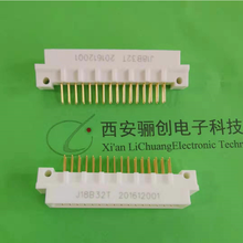 航空插針J18BW96T矩形連接器96芯彎式插針圖片