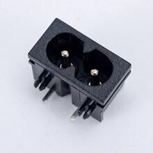 工廠八字插座,8字插座,C8電源插座BT-8-1B-P5圖片