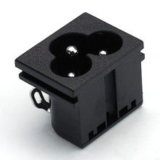 JET认证梅花型插座日本认证梅花形插座BT-6-2A-S3S3(B2)AC插座图片1