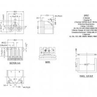 JET认证梅花型插座日本认证梅花形插座BT-6-2A-S3S3(B2)AC插座图片3
