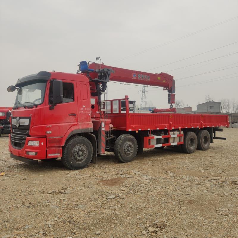 東風隨專徐工14噸16噸4節臂隨車吊價格