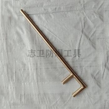 防爆F扳手鈹銅鋁銅圓頭方頭扳手200-1200mm防爆工具