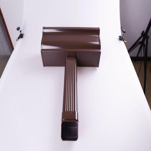 可成成品雨水槽,常德可成鋁合金成品雨水槽款式