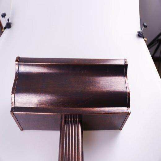 可成彩鋁天溝,寧河可成彩鋁成品天溝造型美觀