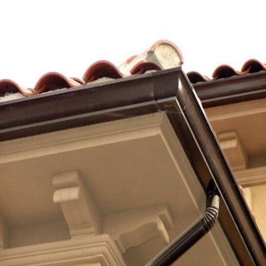 烏蘭察布可成鋁合金彩鋁屋檐水槽服務周到