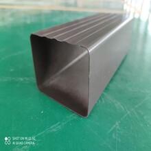 合川铝合金彩铝方形雨水管办事殷勤,雨水管图片