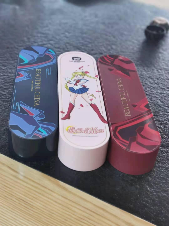 东莞建成辉塑胶五金水转印加工厂电动牙刷水贴UV喷涂加工