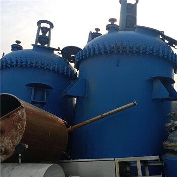 二手搪瓷反應釜5噸搪瓷反應釜不銹鋼反應釜處理