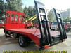 大运黄牌平板车18吨平板背车拉发掘机拖车价格便宜