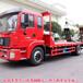 東風藍牌平板車19噸平板拖車拉75挖掘機拖車價格便宜