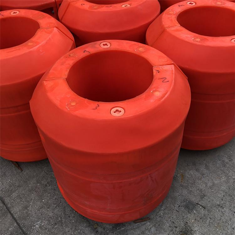 河道抽沙疏浚工程塑料管道浮体海上原油输送管道浮筒