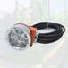 礦用隔爆型LED機車信號燈DGY24/24LX(A)膠輪車大燈膠輪車照明燈