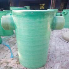 南陽玻璃鋼水表觀察井銷售直通式檢查井圖片