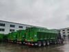 側翻自卸半掛車,履帶式卸貨車,自卸半掛車,輸送帶卸貨車