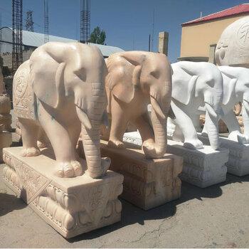 石頭大象制作廠家-石頭大象一對的擺放