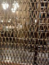 亮騰絲網供應金屬裝飾網金屬網簾銅簾圖片