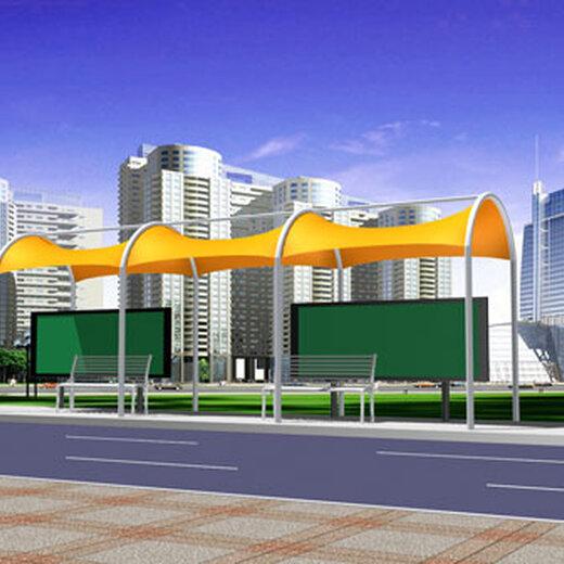 颍上公交站台工程