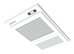 空氣潔凈消毒屏吸頂移動壁掛均可安裝方便室內使用廠家