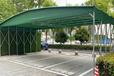 收縮倉庫推拉篷戶外移動遮陽棚折疊防雨蓬伸縮式雨棚大型排檔帳篷