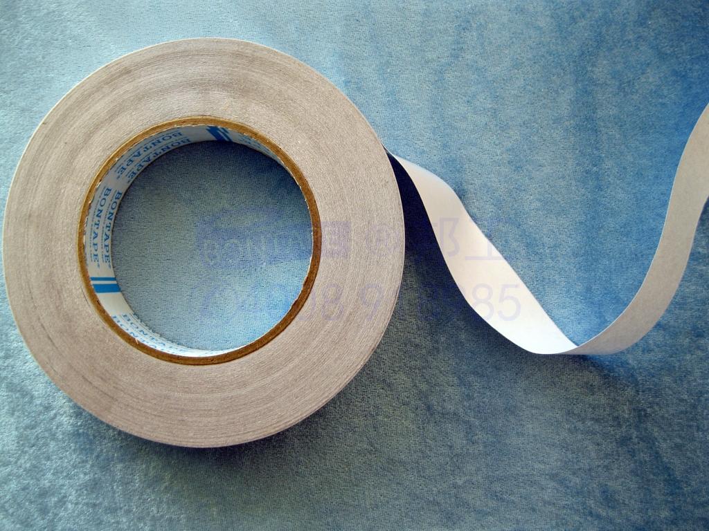 纵向导电Z轴导通铜铝箔防辐射布复合电磁屏蔽抗干扰双面胶转移膜