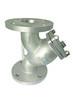 廠家定制不銹鋼Y型法蘭過濾器過濾器閥美標J41W