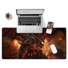 鼠标垫大尺寸LOGO个性定制地垫动物世界卡通休闲加厚桌垫键盘垫图片