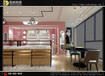 山西陽泉眼鏡店裝修設計店面形象背景及POP廣告位置