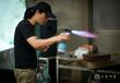 銅產品與火的碰撞熱著色