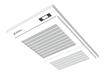 空氣潔凈消毒屏壁掛吸頂移動均可安裝適用于各類場所