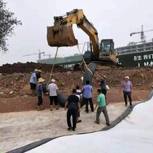 山東針刺法鈉基膨潤土防水毯GCL防水墊人工湖河道垃圾填埋場5KG圖片