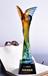 江蘇宿遷定做琉璃獎杯工廠宿遷琉璃獎杯制作廠家琉璃獎杯免費刻字